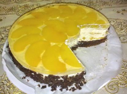 рецепт с фото тортов желе на сливках