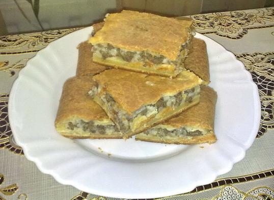 Пироги без дрожжей рецепты