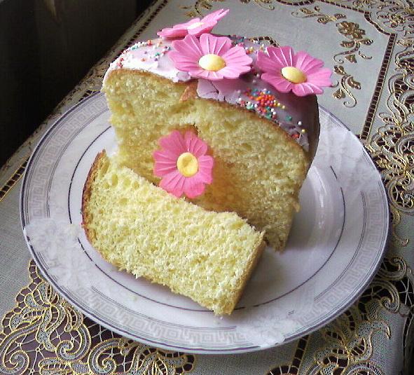 Венское тесто для кулича